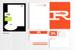 Red Herring Design Stationery System